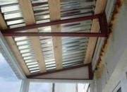 Отремонтируем крышу над балконом в Алматы