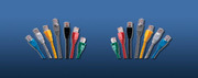 LinkBasic CAA01-UC5E-3-B Cat 5E UTP патч корд,  3m,  цвет голубой
