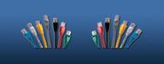 LinkBasic  CAA01-UC6-1-B  Cat 6 UTP патч корд,  1m,  цвет голубой