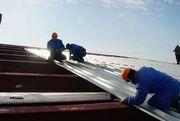 Ремонт крыши оцинкованным профнастилом в Алматы 328 98 20 Владимир