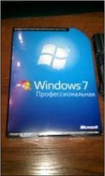 Microsoft Windows 7 pro BOX (32-64 bit) eng/rus продам Алматы