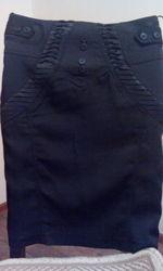 юбка OZGE черного цвета 36 размер