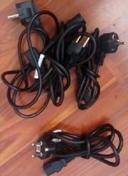 Продам шнуры электропитания для подключения мониторов и компьютеров