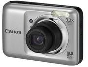 Цифровой фотоаппарат Canon PowerShot A800 (серебристый)