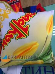 Акция к Наурыз. Подарочные подушки  с любым дизайном.