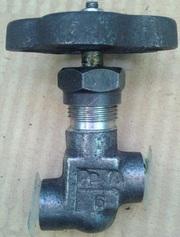 Вентили игольчатые муфтовые стальные под приварку
