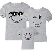 Печать семейных футболок. Нанесение на футболки одинаковых принтов для