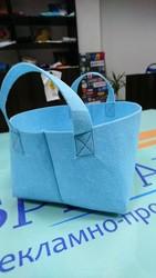 Подарочные сумочки из фетра.
